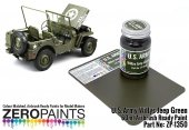 Zero Paints ZP-1350 U.S. Army Willis Jeep Green Paint 60ml