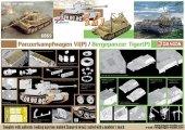 Dragon 6869 Panzerkampfwagen VI(P) / Bergepanzer Tiger(P) - (2 in 1) 1/35