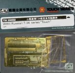 AFV Club TH35002 WWII Russian T-34 series 'Touch' 1:35