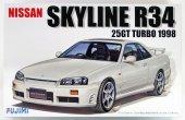 Fujimi 039671 Nissan Skyline R34 25GT (1:24)