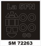 Montex SM72263 La-5FN KP 1/72