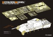Voyager Model PE35983 WWII German Panther D Tank Late version Basic For TAKOM 2104 1/35