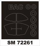 Montex SM72261 STRIKEMASTER SWORD 1/72