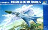 Trumpeter 02812 Sukhoi Su-15 UM Flagon-G (1:48)