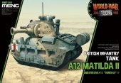 Meng Model WWT-014 World War Toons A12 Matilda II