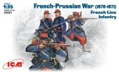 ICM 35061 French-Prussian War 1870-1871 French line infantry