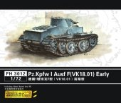 Flyhawk 3012 Pz. Kpfw I Ausf F (VK.18.01) Early (1:72)