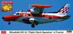 Hasegawa 02370 Mitsubishi MU-2J Flight Check Squadron w/Tractor 1/72