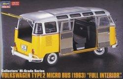 Hasegawa CH48-51048 Volkswagen Type2 Micro Bus (1963) Full Interior 1/24