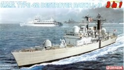 Dragon 7152 H.M.S. Type 42 Destroyer Batch 1-3 3 in 1 1/700