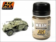 AK Interactive AK 066 Africa Korps Wash 35ml