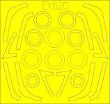 Eduard EX620 F-16C/ N TFace TAMIYA 1/48
