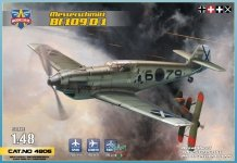 Modelsvit 4806 Messerschmitt Bf.109 D-1 1/48