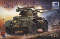 Bronco 1:35 Canadian T17E1 Staghound Mk.I (CB35017)