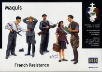 Master Box 3551 Maquis, French Resistance  (1:35)