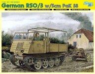Dragon 6684 German RSO/3 w/5cm PaK 38 (1:35)