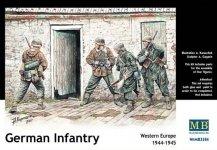 Master Box 3584 German Infantry, Western Europe (1944-1945) (1:35)