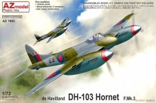 AZ Model AZ7653 de Havilland DH.103 Hornet F Mk. 3 1/72