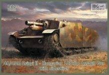 IBG 72052 40/43M Zrinyi II Hungarian 105mm Assault Gun (1:72)