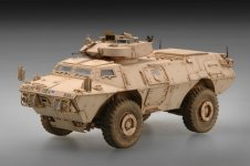 Trumpeter 07131 M1117 Guardian Armored Security Vehicle (ASV) (1:72)