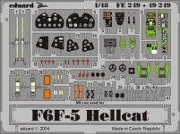 Eduard FE249 F6F-5 1/48 Hasegawa