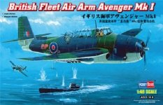 Hobby Boss 80331 British Fleet Air Arm Avenger Mk 1 (1:48)