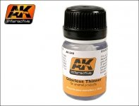 AK Interactive AK 049 Odorless Turpentine 35 Ml