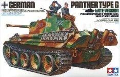 Tamiya 35176 German Panther Type G Late Version (1:35)