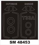 Montex SM48453 T-33A GWH 1/48