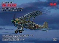 ICM 32021 CR. 42 LW , WWII German Luftwaffe Ground Attack Aircraft 1/32