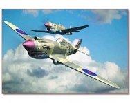 Trumpeter 02807 Curtiss P-40B Warhawk (1:48)