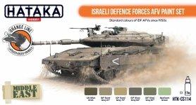 Hataka HTK-CS114 Israeli Defence Forces AFV Paint Set 6x17 ml