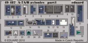 Eduard 49487 A-7A/ B avionics 1/48 Hobby Boss