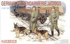 Dragon 6098 German Feldendarmerie w.Dogs (1:35)