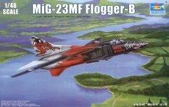 Trumpeter 02854 MIG-23MF Flogger-B (1:48)