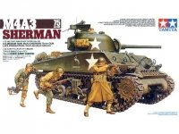 Tamiya 35250 U.S. Medium Tank M4A3 Sherman 75mm Gun Late Production (1:35)