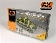 AK Interactive AK 167 German Green  Brown Modulation Set 6x17ml