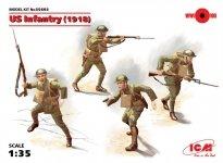 ICM 35693 US Infantry (1918) (4 figures) 1:35