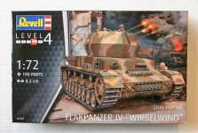 Revell 03267 Flakpanzer IV Wirbelwind 2 (1:72)