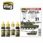 Ammo of Mig 7173 REPUBLIC OF KOREA ARMY MODERN COLORS SET