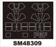 Montex SM48309 F6F HELLCAT EDUARD