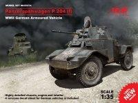 ICM 35374 Panzerspahwagen P 204 (f) WWII German Armoured Vehicle