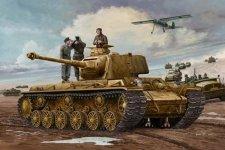 Trumpeter 00366 German Pz.Kpfm KV-1 756(r) Tank (1:35)