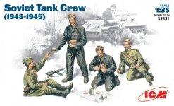 ICM 35351 Soviet Tank Crew 1943-1945 (1:35)