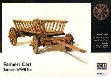 Master Box 3537 Farmers Cart, Europe, WWII Era (1:35)