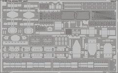Eduard 53069 USS Arizona 1941 1/350 Hobby Boss