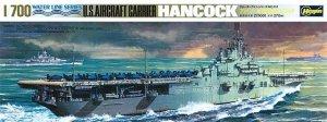 Hasegawa WL708 U.S.S. Aircraft Carrier Hancock (1:700)