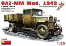 MiniArt 35134 Soviet GAZ-MM Mod.1943 Cargo Truck (1:35)
