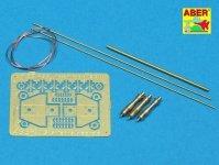 Aber R-25 US antenna and brackets (set of 3 pcs) (1:35)