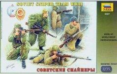 Zvezda 3597 Soviet Sniper Team WWII (1:35)